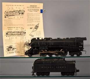 Lionel postwar O 736 2-8-4 Berkshire steam locomotive