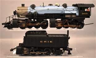 MTH Rail King O gauge Erie 2-8-8-8-2 Triplex steam