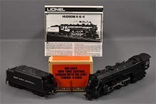 Lionel modern era O New York Central 4-6-4 Hudson steam
