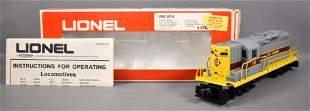 Lionel modern era O Erie Lackawanna GP-9 diesel