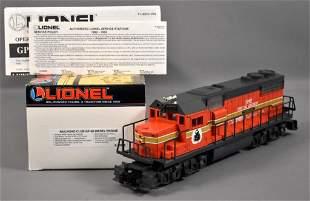 Lionel modern era O Railroad Club GP-38 diesel
