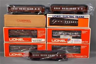 Lionel modern era O Pennsylvania passenger car set in