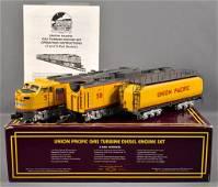 MTH Premier O gauge Union Pacific gas turbine diesel