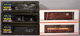 Five Weaver and Petersen Supply O gauge New York
