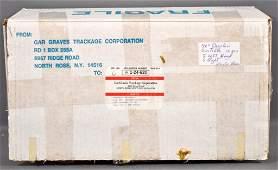 """Ten Gargraves Phantom 72"""" or 72 degree plastic O gauge"""