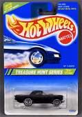 Hot Wheels 1995 Treasure Hunt #4 '57 T-Bird mint on a