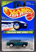 Hot Wheels 1995 Treasure Hunt #10 Nomad mint on a