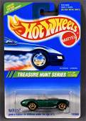 Hot Wheels 1995 Treasure Hunt #11 Classic Cobra mint on