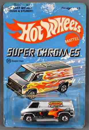 Blackwall Hot Wheels Super Chromes 35 Super Van on