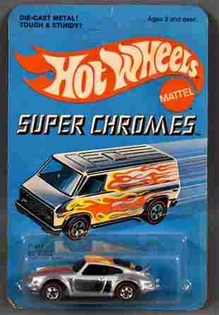 Redline Hot Wheels Super Chromes P-911 Porsche on