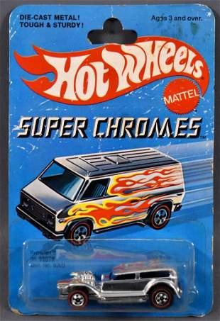 Redline Hot Wheels Super Chromes Prowler on sealed
