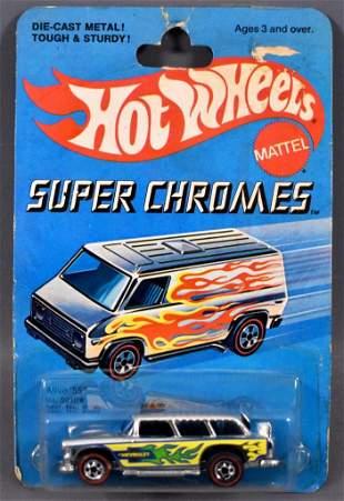 Redline Hot Wheels Super Chromes Alive '55 on sealed
