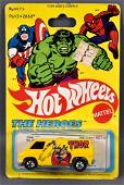 Blackwall Hot Wheels The Heroes Thor van on sealed