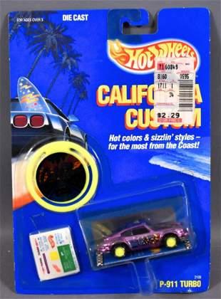 Hot Wheels California Custom PURPLE P-911 Turbo Porsche