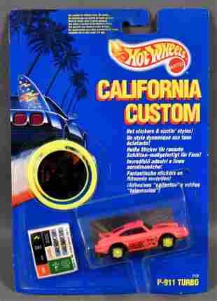 Hot Wheels California Custom PINK P-911 Turbo Porsche