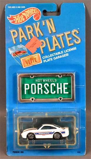 Hot Wheels Park n Plates Porsche 959 on sealed blister