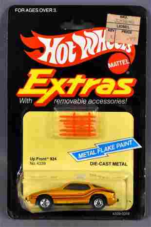 Hot Wheels Extras Up Front 924 Porsche on sealed
