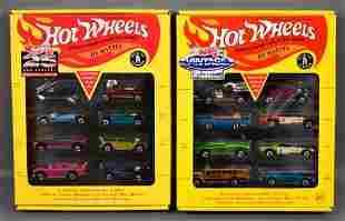 Hot Wheels 25th anniversary and Vintage series 1 and 2