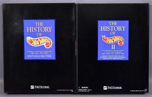 FAO Schwarz History of Hot Wheels I and II box sets in