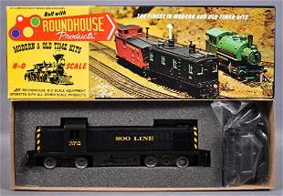 Roundhouse HO scale Soo Line RS3 diesel locomotive kit