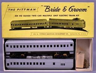 Pittman HO scale Bride & Groom MU Multiple Unit kit in