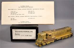 Hallmark HO scale brass Baldwin AS-616 diesel