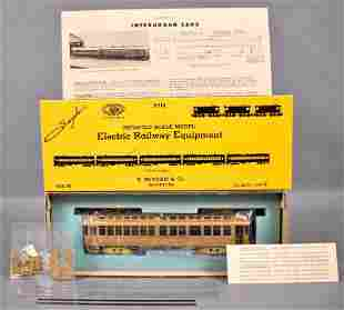 E. Suydam HO scale brass 1032 Pacific Electric wood