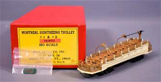 MTS Imports factory painted HO scale Montreal