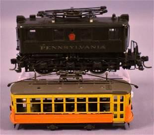 HO scale brass Alco Models Pennsylvania B-1 electric