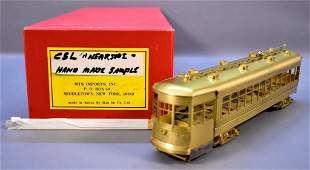 Hand made sample MTS Imports O scale brass Chicago