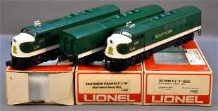 Lionel modern era O Southern F-3 ABA diesel locomotive