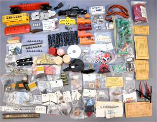 Large group of modern and postwar Lionel repair parts