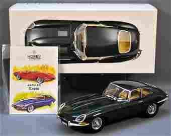 Norev 1/12 scale green 1961 Jaguar E-Type coupe die