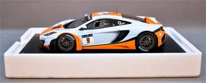 TSM Model 1/18 scale resin 2012 McLaren MP4-12C GT3 in