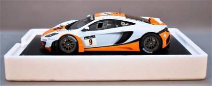 TSM Model 1/18 scale resin 2012 McLaren MP4-12C GT3 in