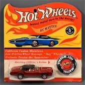 Redline Hot Wheels US red Custom Eldorado on Cheetah