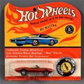 Redline Hot Wheels HK Red Custom Firebird on Blister
