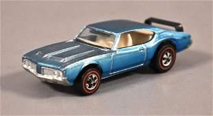 Redline Hot Wheels Blue Fade Olds 442 Loose
