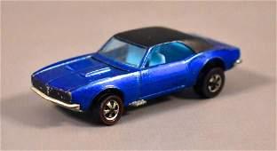 Redline Hot Wheels HK Blue Custom Camaro Loose