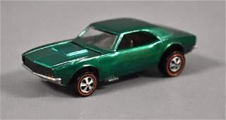 Redline Hot Wheels US Green Custom Camaro Loose