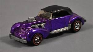 Redline Hot Wheels Purple Classic Cord Loose