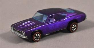 Redline Hot Wheels HK Purple Custom Barracuda Loose