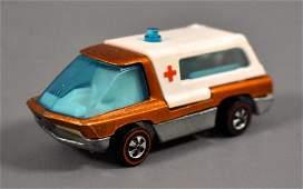 Redline Hot Wheels Orange The Heavyweights Ambulance