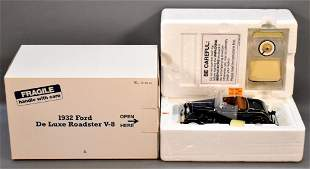 Danbury Mint 1932 Ford Roadster Black in Original Box