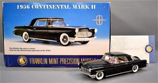 Franklin Mint 1956 Continental Mark II in Black with