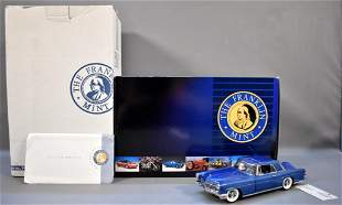 Franklin Mint 1956 Continental Mark II in Blue Limited