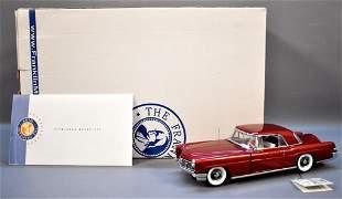Franklin Mint 1956 Continental Mark II Maroon Limited