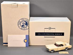 Franklin Mint 1956 Continental Mark II in White Limited