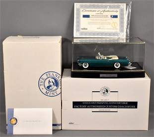 Franklin Mint 1956 Continental Mark II Convertible