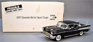 Danbury Mint 1957 Chevrolet Bel Air Hardtop in Black